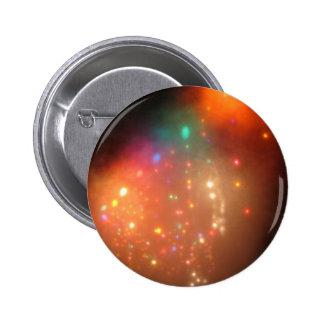 Christmas Fog 2 Inch Round Button