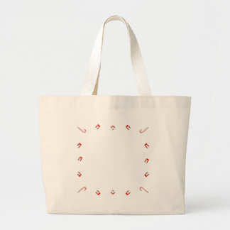 Christmas Frame Large Tote Bag