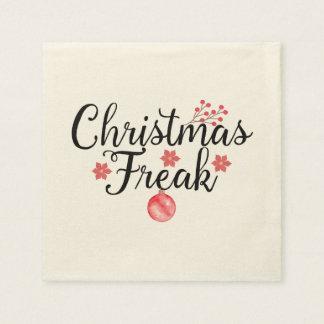 Christmas Freak Disposable Napkins