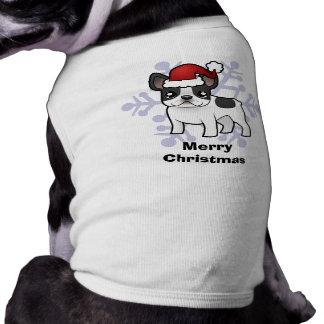 Christmas French Bulldog Doggie Tee