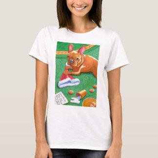 Christmas French Bulldog T-Shirt
