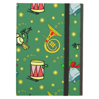 Christmas, French Horns and Magenta Drums Case For iPad Air