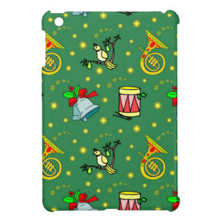 Christmas, French Horns and Magenta Drums iPad Mini Cases