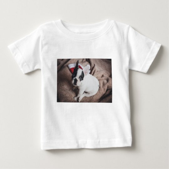 Christmas Frenchie Baby T-Shirt