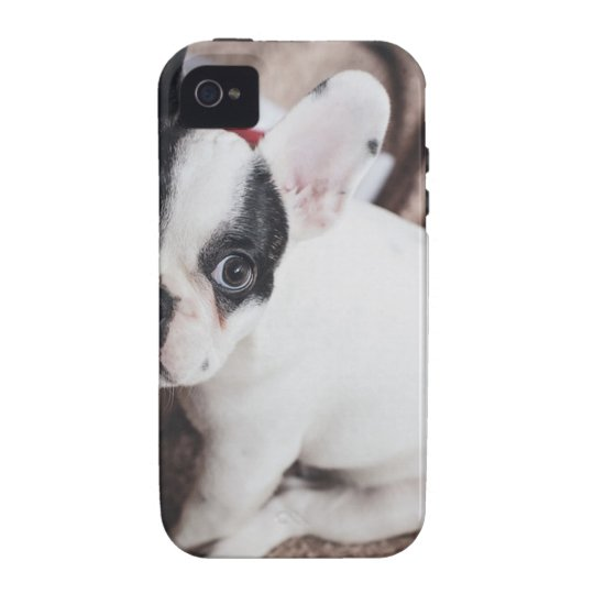 Christmas Frenchie iPhone 4 Case