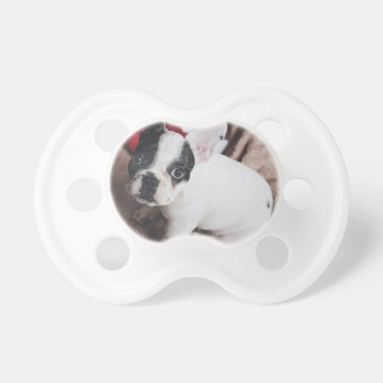 Christmas Frenchie Pacifier