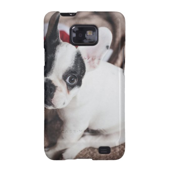 Christmas Frenchie Samsung Galaxy S2 Case