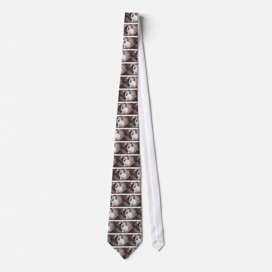 Christmas Frenchie Tie