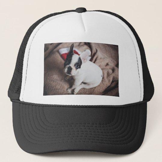 Christmas Frenchie Trucker Hat