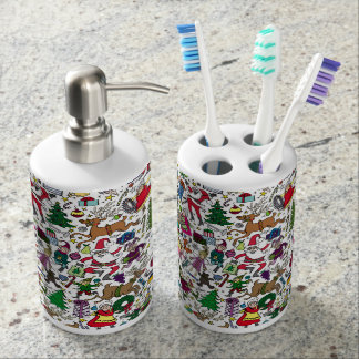 """""""Christmas Frenzy"""" — Toothbrush and Soap Set"""