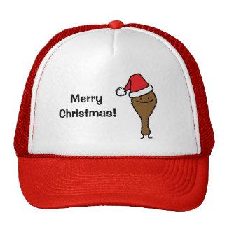 Christmas Fried Chicken Leg Trucker Hat