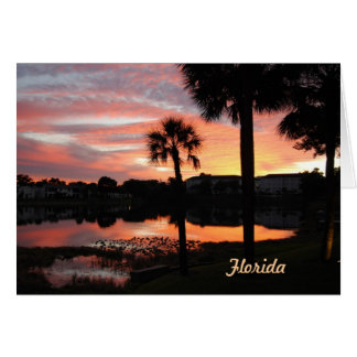 Christmas From Florida Card