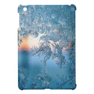 Christmas frost ice iPad mini case