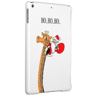 Christmas Funny Santa Holidays Cover For iPad Air