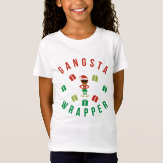 Christmas. Funny Saying. Nerd. Gangsta Wrapper T-Shirt