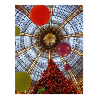 Christmas • Galeries Lafayette Postcard