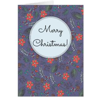 Christmas Garden Card Customisable