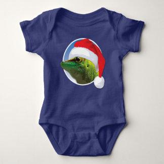 Christmas Gecko - Baby Jersey Bodysuit