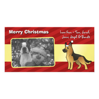 Christmas German Shepherd Photo Cards