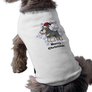 Christmas Giant/Standard/Miniature Schnauzer Pet Shirt
