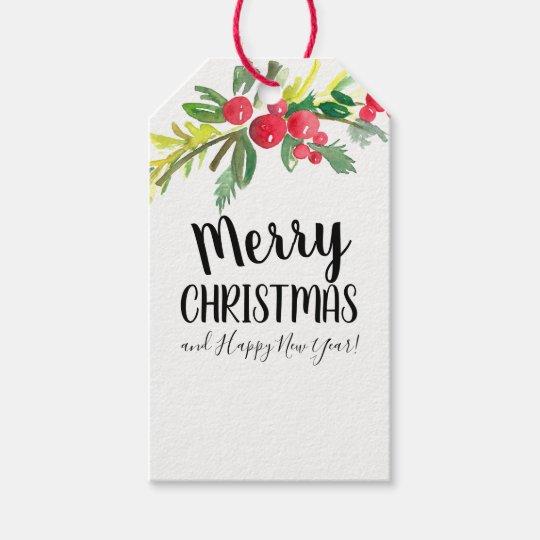 Christmas Gift Card Hang Tag