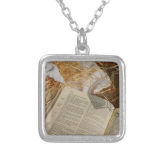 Christmas gift spread the Gospel Silver Plated Necklace