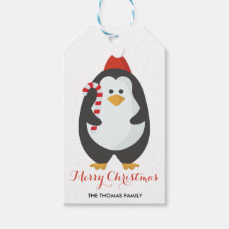 Christmas Gift Tags | Cute Penguin