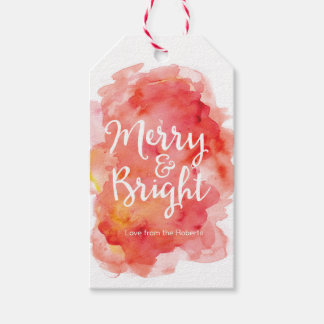 Christmas gift tags | Merry & Bright Pack Of Gift Tags