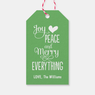 Christmas Gift Tags | Merry Everything