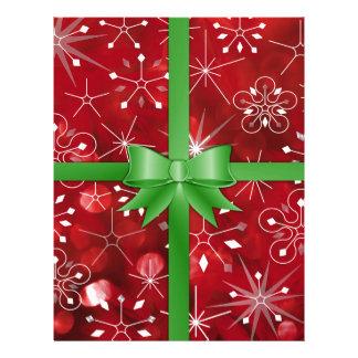 Christmas Gift Wrap Letterhead