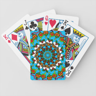 Christmas gifts cute pudding,festive gift bicycle playing cards