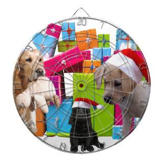 Christmas Gifts Dogs Christmas Dog Santa Hat Cap Dartboard