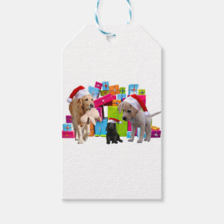 Christmas Gifts Dogs Christmas Dog Santa Hat Cap Gift Tags