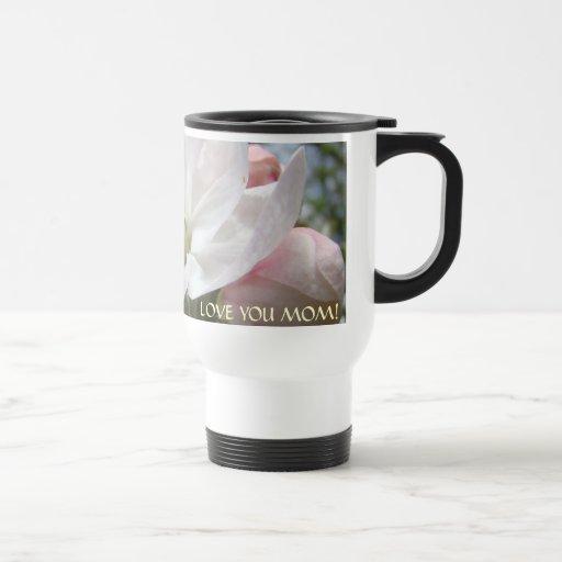 CHRISTMAS GIFTS MOM Apple Blossoms LOVE YOU Mugs