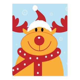 Christmas gifts postcard