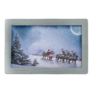 Christmas Gifts Rectangular Belt Buckle