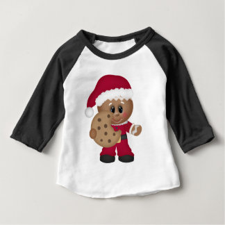 Christmas Gingerbread boys baby t-shirt