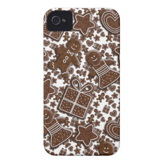 christmas gingerbread cookies iPhone 4 cover