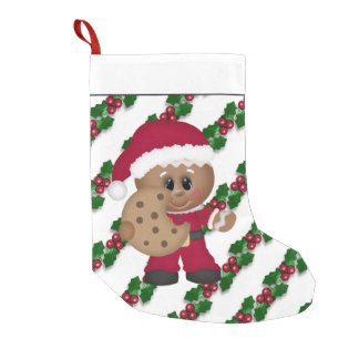 Christmas Gingerbread Holiday cookie stocking