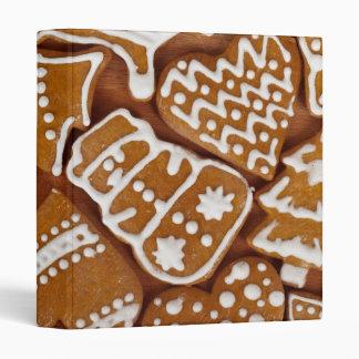 Christmas Gingerbread Holiday Cookies Binder