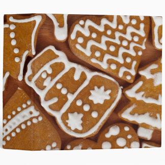 Christmas Gingerbread Holiday Cookies Binders