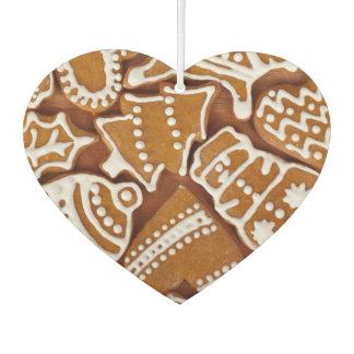 Christmas Gingerbread Holiday Cookies Car Air Freshener
