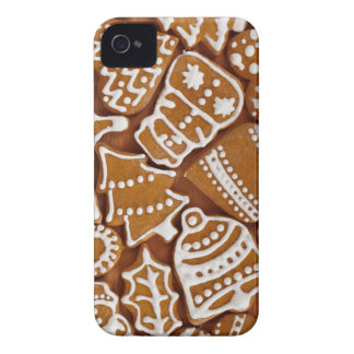 Christmas Gingerbread Holiday Cookies Case-Mate iPhone 4 Case
