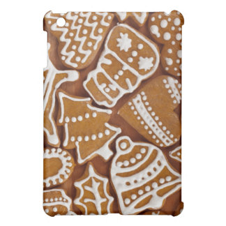 Christmas Gingerbread Holiday Cookies Cover For The iPad Mini
