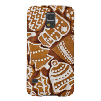 Christmas Gingerbread Holiday Cookies Galaxy S5 Covers