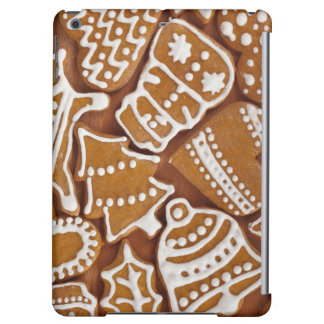 Christmas Gingerbread Holiday Cookies iPad Air Covers