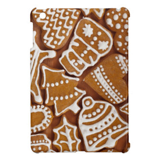 Christmas Gingerbread Holiday Cookies iPad Mini Cover