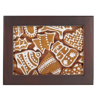 Christmas Gingerbread Holiday Cookies Keepsake Box