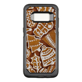 Christmas Gingerbread Holiday Cookies OtterBox Commuter Samsung Galaxy S8 Case