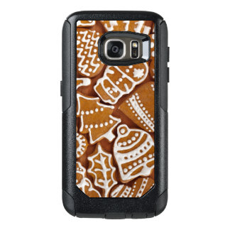 Christmas Gingerbread Holiday Cookies OtterBox Samsung Galaxy S7 Case